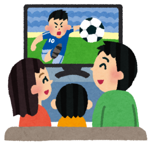 動画配信サービスは、リビングのテレビで家族みんなが利用する性質のものです。
