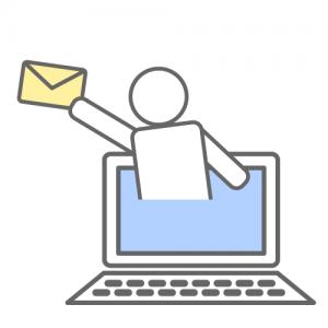 残されたメールには危険がいっぱい!?でも友人たちへの連絡ツールにもなります。