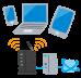 インターネット接続に必要なプロバイダー契約。再設定は大変ですが承継できるもの多くございます。 デジタル生前整理のプロバイダー編~
